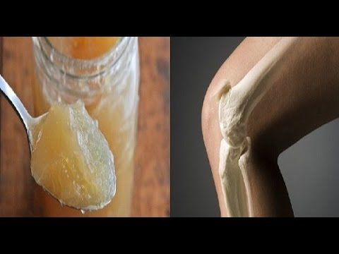Esta receta renueva tus huesos, tendones y articulaciones en tan solo una semana - YouTube