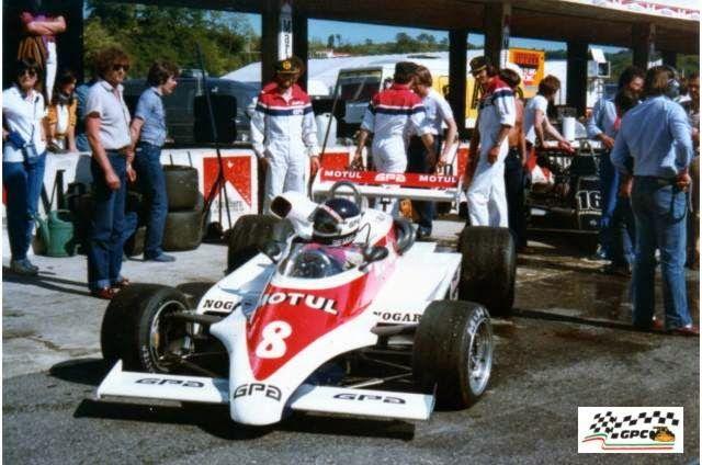 Richard Dallest - AGS JH18 BMW/Mader - Team AGS Motul GPA - XXXI Gran Premio di Roma 1981