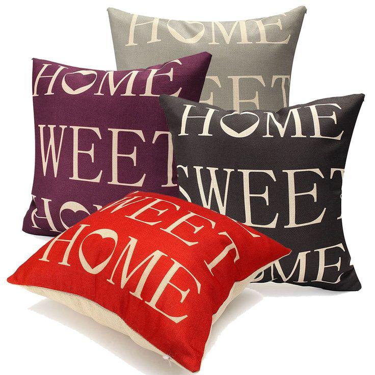 45x45cm carta decoración fundas de colchón funda de almohada de lino tiro hogar