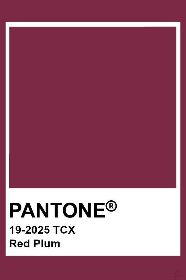 Pantone Red Plum Nikkis Wedding Pinterest Pantone Red
