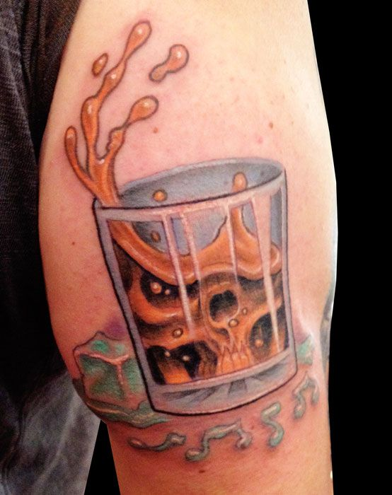 Whiskey Tattoo 10