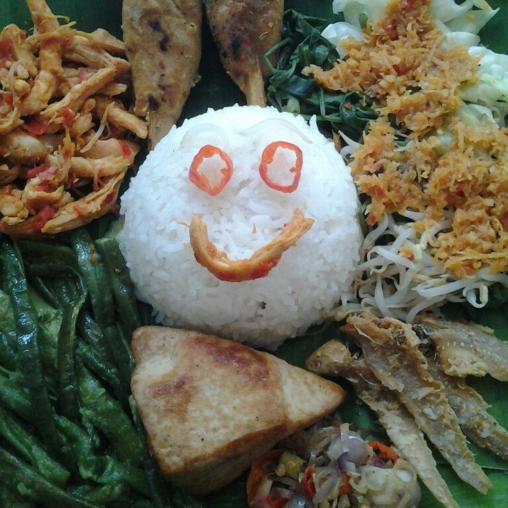 Nasi Rames Bali