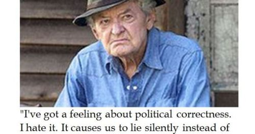 #quote Hal Holbrook on Political Correctness...