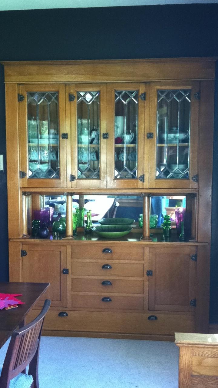 Built in china cabinet - My Built In China Cabinet
