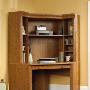 sauder orchard hills hutch carolina oak computer desk