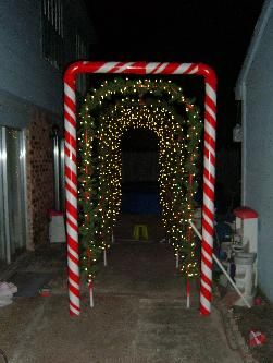 Outdoor Christmas Decorations Candy Canes 52 Best Candy Cane Outdoor Theme Images On Pinterest  Christmas