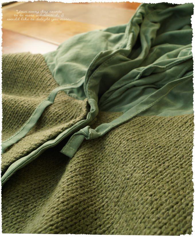 【楽天市場】【再入荷♪2月2日11時より】(ナチュラルグリーン) *cawaii×絵本* 草木の色をうつした冬でも気持ちが晴れやぐリバーシブルジャンパー。 レディース ファッション 森ガール アウター コート(送料無料):ワンピース専門店 Cawaii