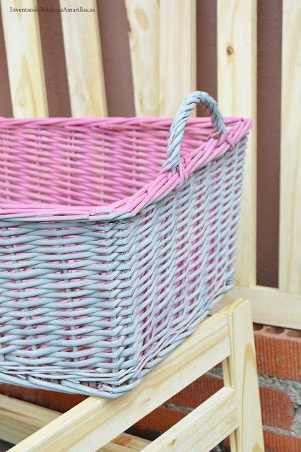 Renovar nuestras cestas de mimbre