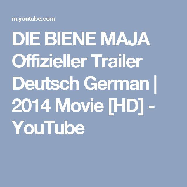 DIE BIENE MAJA Offizieller Trailer Deutsch German   2014 Movie [HD] - YouTube