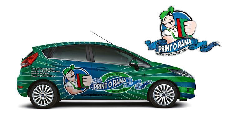 Print O Rama Car Wrap