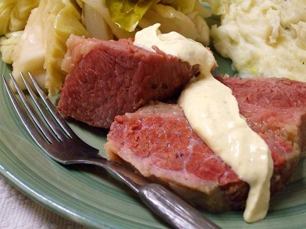 Horseradish Sauce Recipe for the Corned Beef