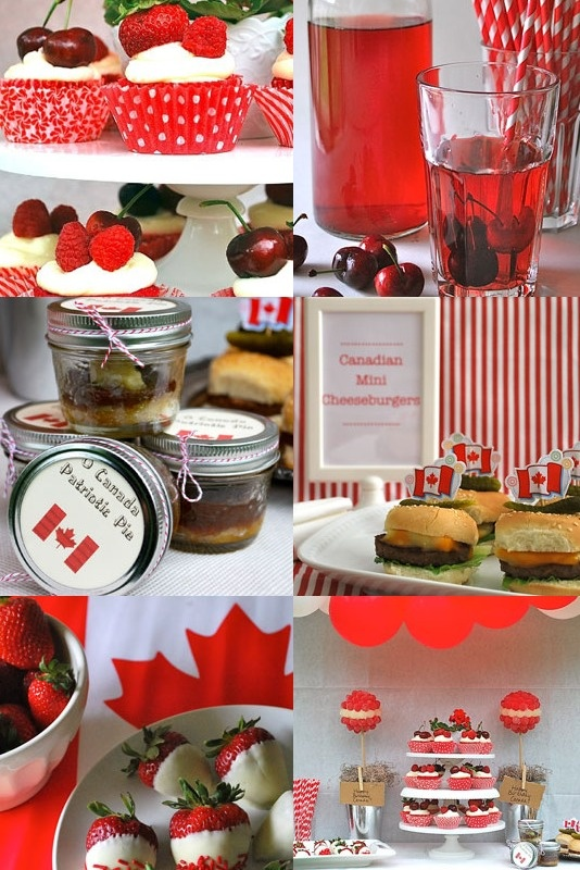 Celebrate Canada Day with these great party ideas! www.savvymom.ca