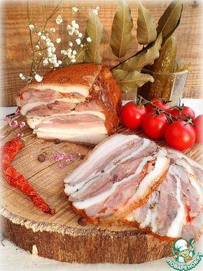 """Запеченное прессованное мясо """"Для настоящих мужчин"""" - кулинарный рецепт"""