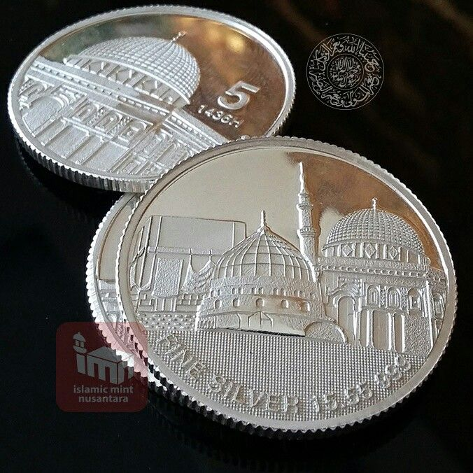 The 17 best dinar and dirham images on pinterest indonesia khamsa darahim 5 dirham nabawi 1555 gram 999 or 12 troy m4hsunfo