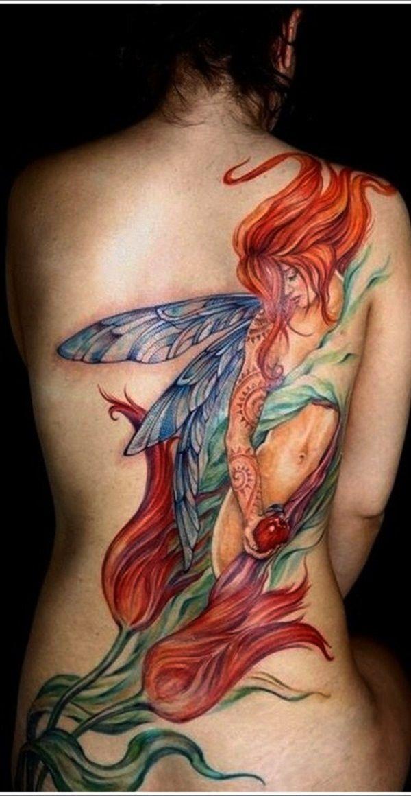 Adorable Fairy Tattoo Designs (30)