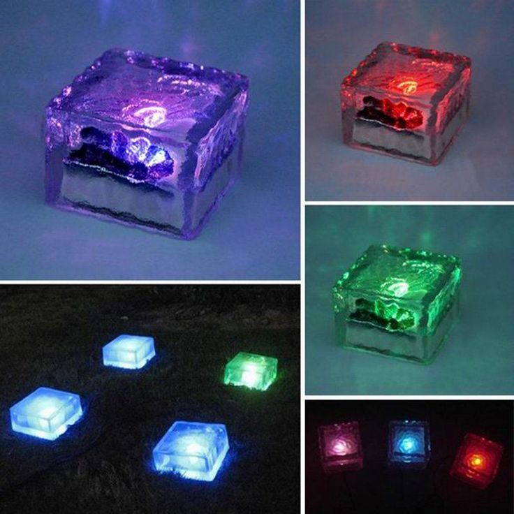 25 Best Led Solar Bricks Images On Pinterest Glass Brick
