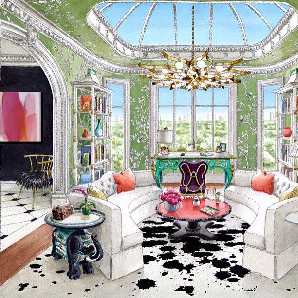 So chic..living room