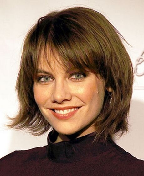 Layered bobs with bangs                                                                                                                                                                                 More