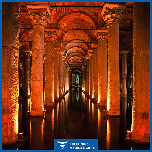 One of the most magical places in Istanbul is the Basilica Cistern. It is an ancient cistern that lies beneath the city for almost 1500 years! #MagicalPlaces #Turkey