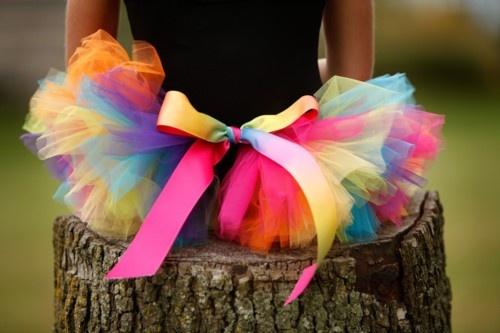 tutuColors Tutu, Chase Rainbows, Crafts Ideas, Rainbows Connection, Crayola Tutus, Rainbows Parties, Big Bows, Rainbows Tutu, Colors Tulle