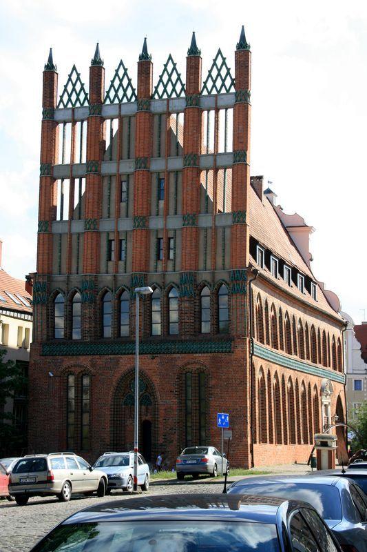 Medieval building - Szczecin, Zachodniopomorskie