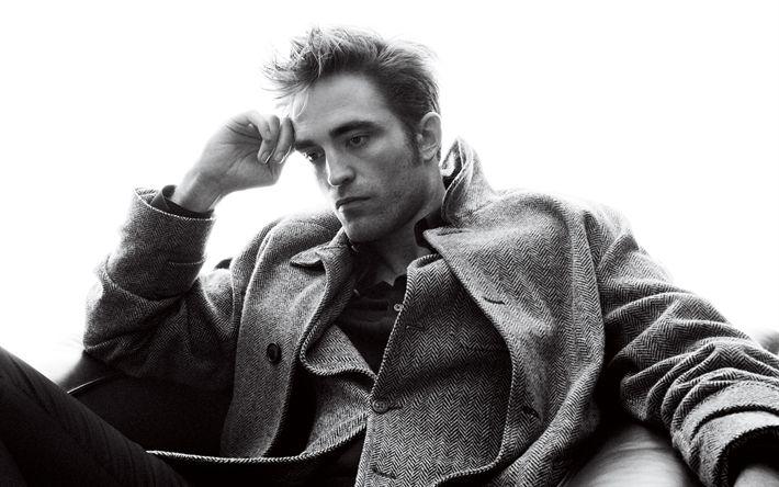 Herunterladen hintergrundbild robert pattinson, britischer schauspieler, 4k -, portrait -, winter-kleid-foto-shooting