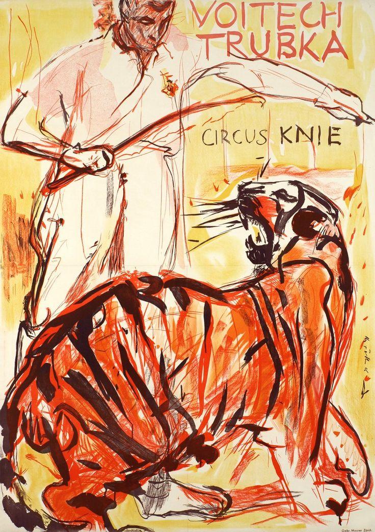 Knie, Circus Knie, Voitech Trubka. Hans FALK (1946)