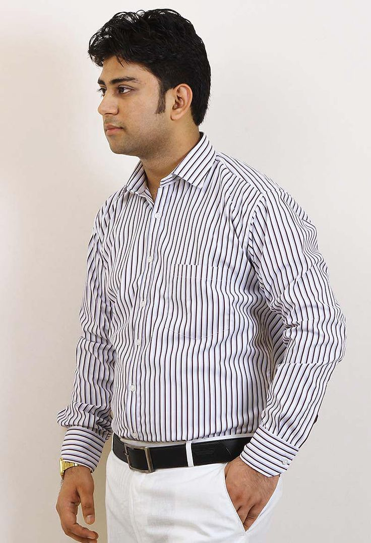 Buy Online SIERA Mauve Best Fabric Polyester Cotton Formal Shirts only on GetAbhi.com http://tinyurl.com/grcup43
