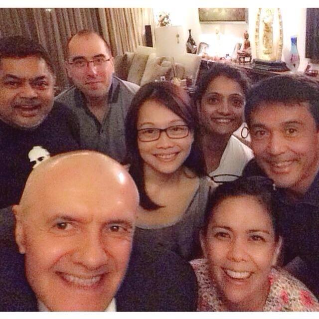 La familia for always.   #qnetselfie
