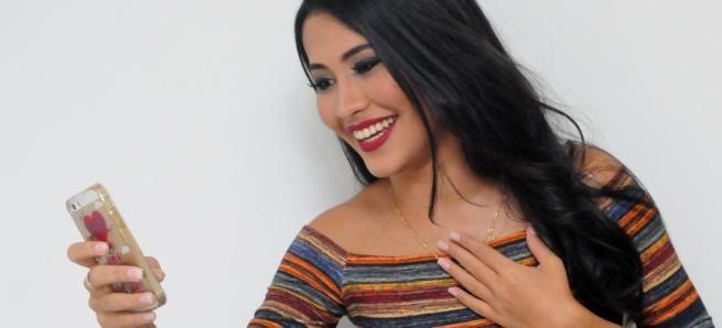Thaynara esteve no Recife e realizou um evento no Dia Internacional da Mulher