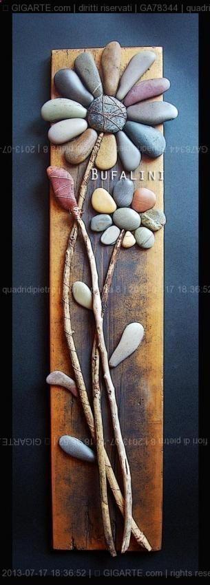 Garden art! - great mixed medium