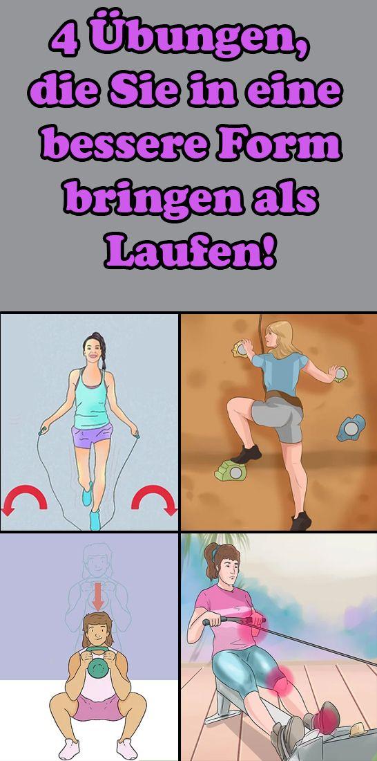 4 Übungen, die Sie in eine bessere Form bringen als Laufen