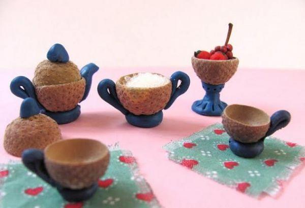 DIY acorns Легкие поделки из желудей