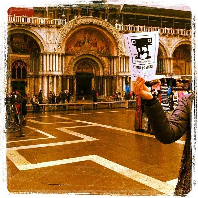 @michelazamuner : Today I #foundverdi in Venice! @#VerdiMuseum