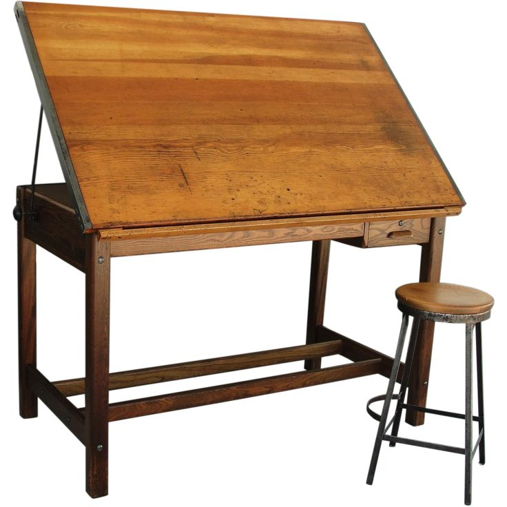 vintage industrial hamilton drafting table kitchen island