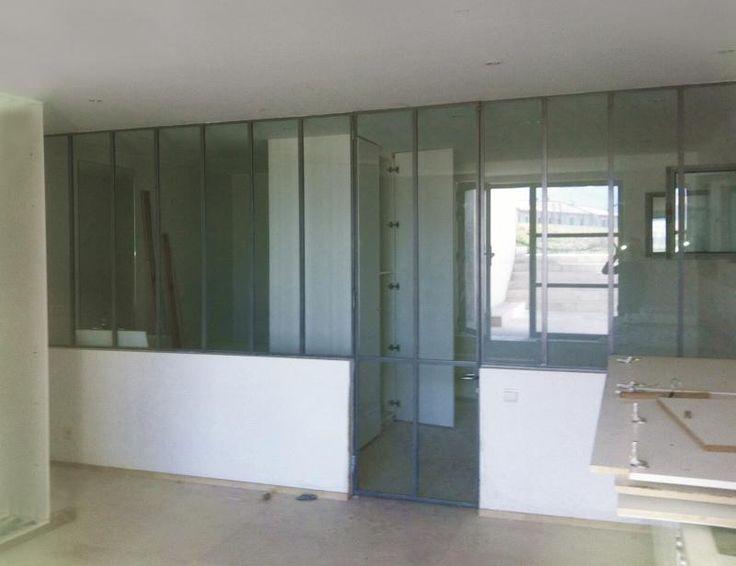 Cloison type atelier pas cher for Prix cloison vitree type atelier