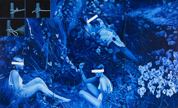 Jacques Monory   Velvet Jungle Nº10/1, 1970