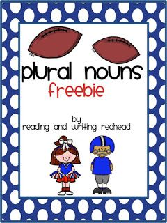 Freebie for Plural Nouns  Hi there! Plural nouns can be so confusing especially with the irregular nouns like children mice etc. This freebie might help! Students will work on making singular nouns that end in y and s into their plural forms. Click here on the image below to download! Please leave feedback if you do. I really appreciate all the feedback I get so thank you!   1-3 Bex Mawn irregular plural nouns nouns parts of speech plural nouns Reading and Writing Redhead spelling