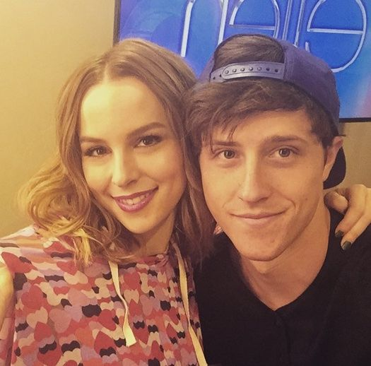 Bridgit Mendler talks about boyfriend Shane Harper.