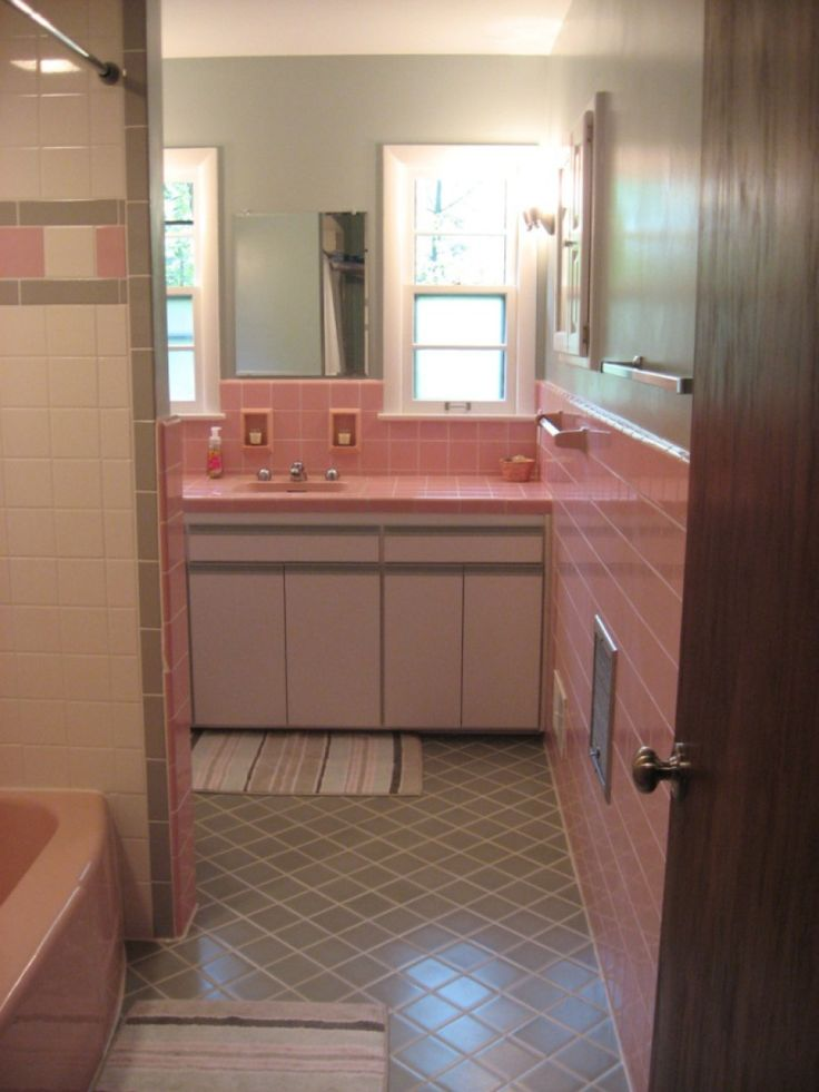 Retro Renovation Remodeling  decor and home improvement for old homes Time capsule houses Wonderful oddities. 1000  ideas about 1950s Bathroom on Pinterest   Subway tile colors