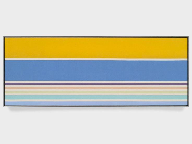 Another Kenneth Noland, I've never seen his verticals before http://decdesignecasa.blogspot.it