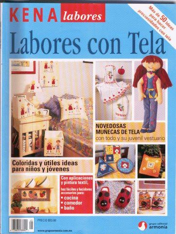 labores con tela - dong3 - Picasa Web Albums... FREE BOOK AND PATTERNS!