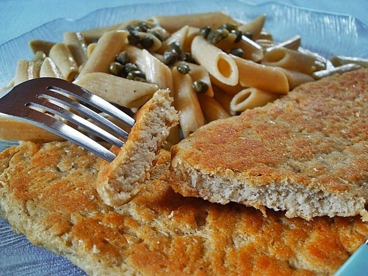 Ma Cuisine Végétalienne: Escalopes d'haricots blancs, amande (Vegan)