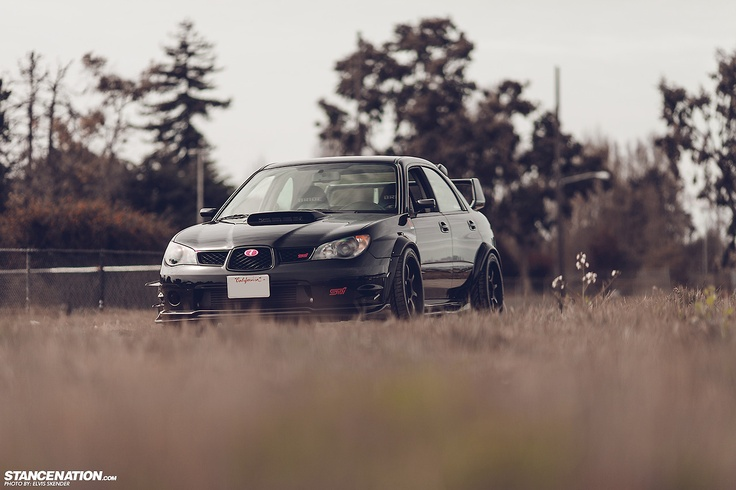 2007 Subaru WRX STI on Advan RG-D wheels. | Photos by Elvis Skender exclusively for - STANCENATION.