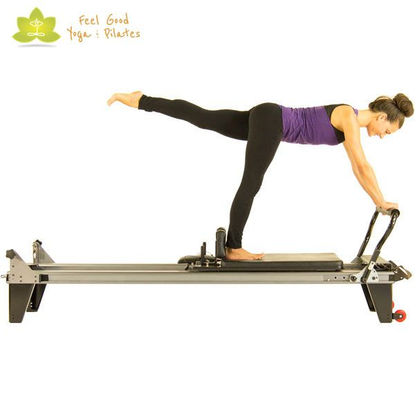 arabesque pilates reformer exercise start position