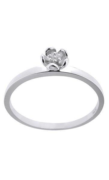 Karen Walker Mini Flower ring - sterling silver