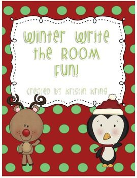 A follow-up to my Thanksgiving Write the Room, this winter/Christmas-themed Write the Room freebie will give your students an opportunity to search for and record sight words hidden around your classroom! Included are 2 recording sheets with room for 7 or 12 words as well as word cards for all Dolch pre-primer words.
