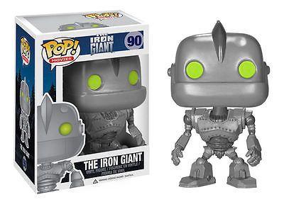Limited Funko Pop! Movies: The Iron Giant # 90 Vinyl Figure Brand New Mint RARE