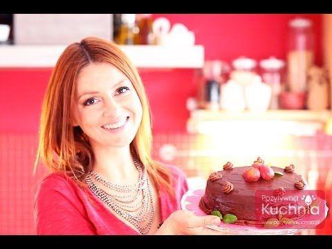Tort czekoladowy | PozytywnaKuchnia.pl - YouTube