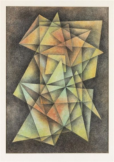 Paul Kelpe, Composition #14, 1980